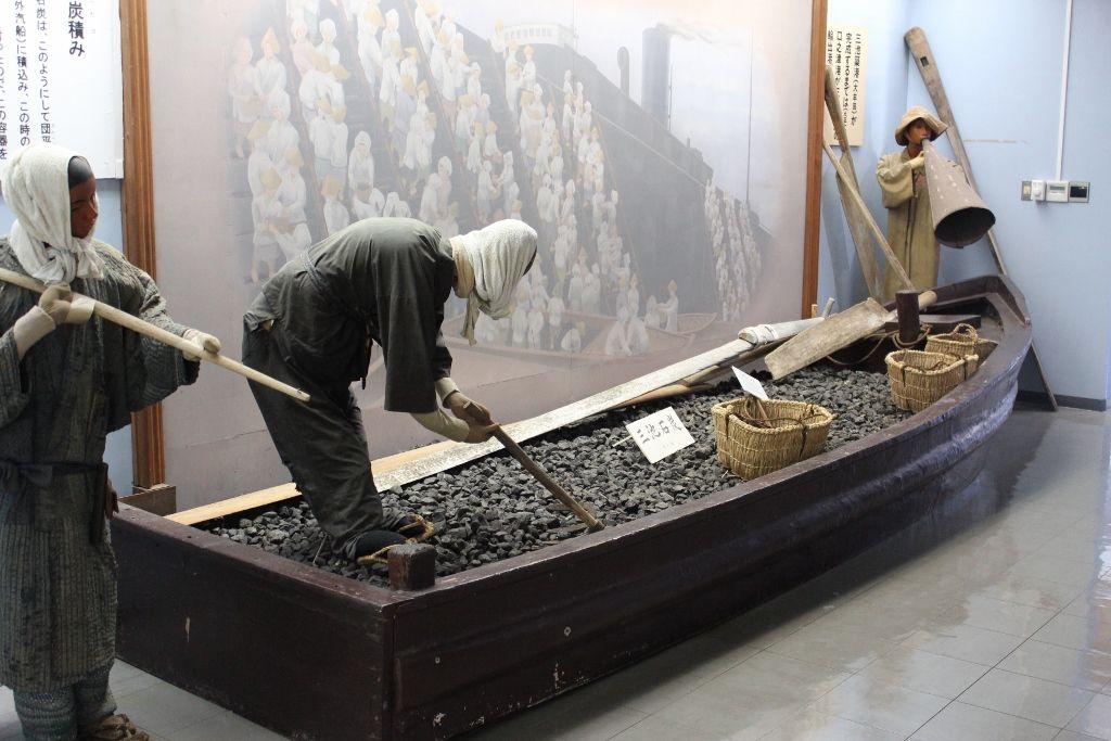 黒ダイヤと呼ばれる石炭の積出港で栄えた口之津港
