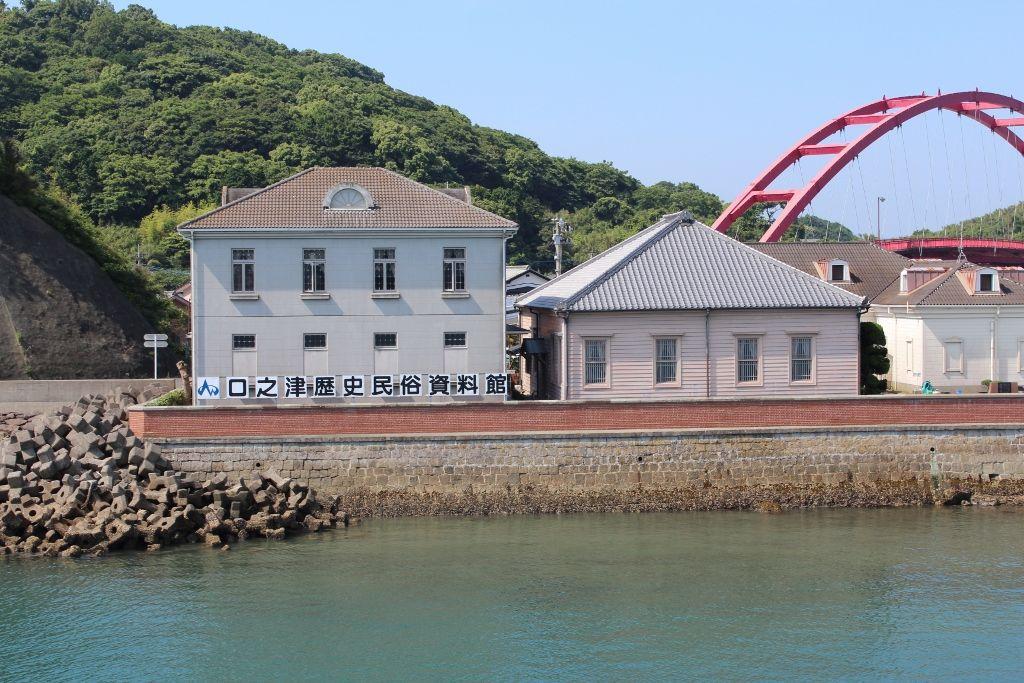 口之津唯一の明治洋風建物「口之津歴史資料館」