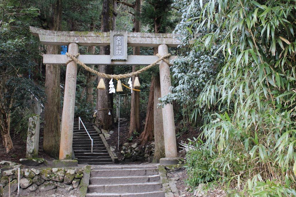 のどかな山間にある「金持神社」