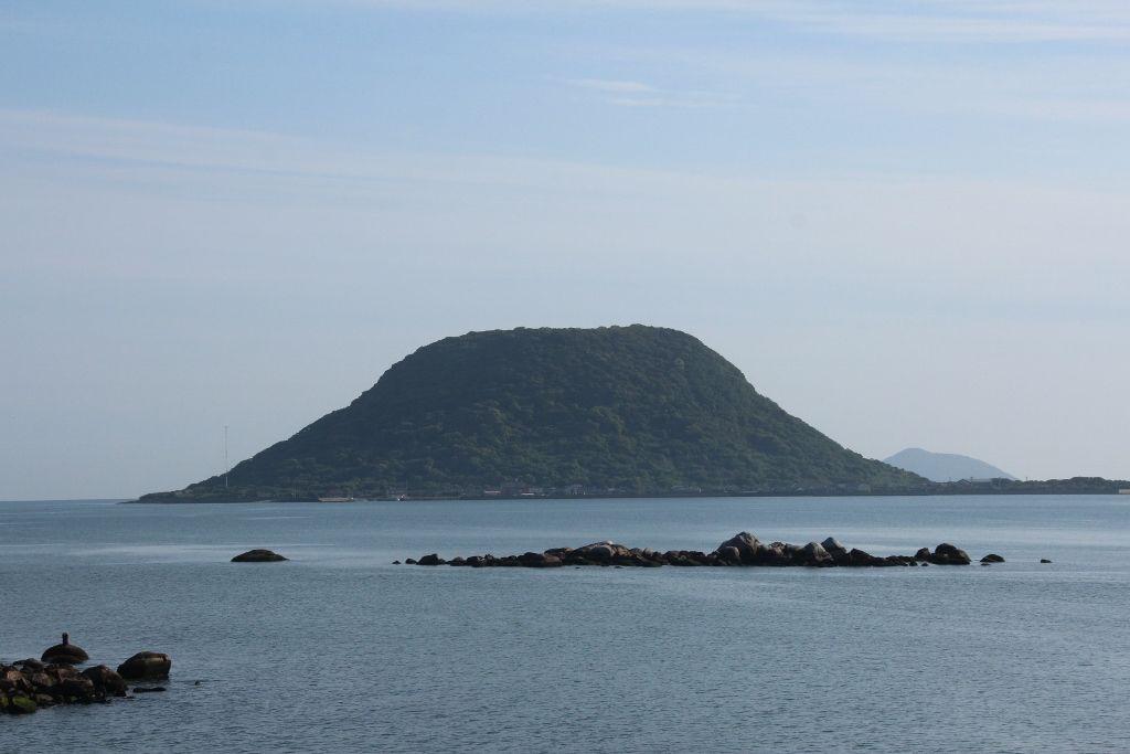 宝当神社のある高島へ渡ろう!