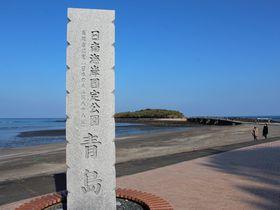"""自然が生んだ絶景!奇岩""""鬼の洗濯板""""が囲む宮崎市「青島」"""