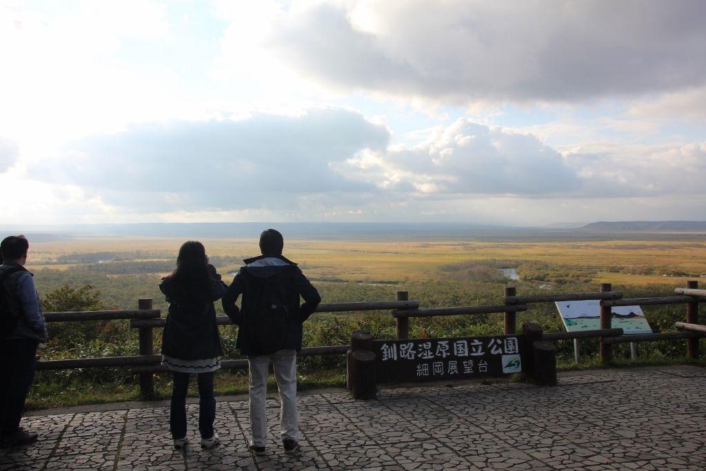 釧路湿原を眺望する大人気のスポット「細岡展望所」