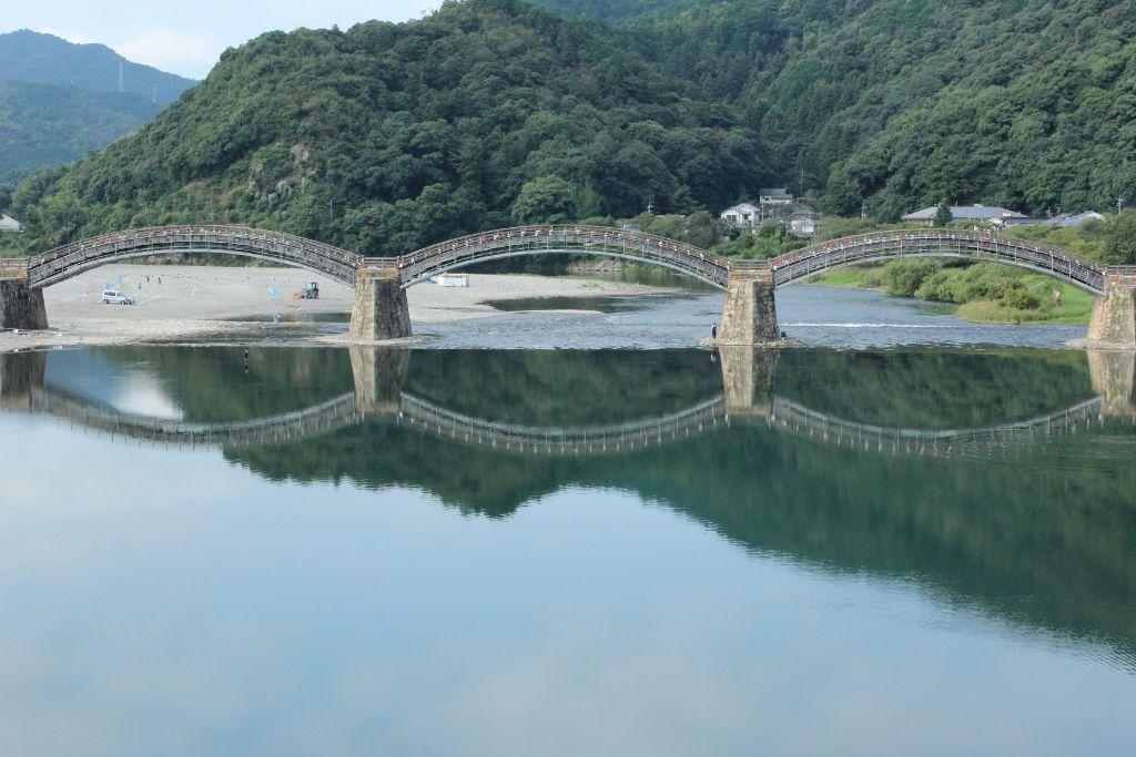 日本を代表する日本三名橋の一つ「錦帯橋」