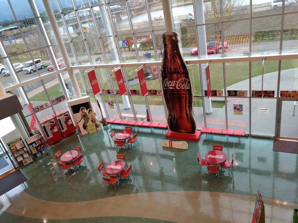 無料で見学できるコカ・コーラえびの工場