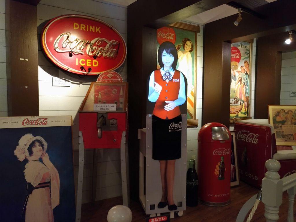 コカ・コーラの歴史を体感できるコレクションギャラリー
