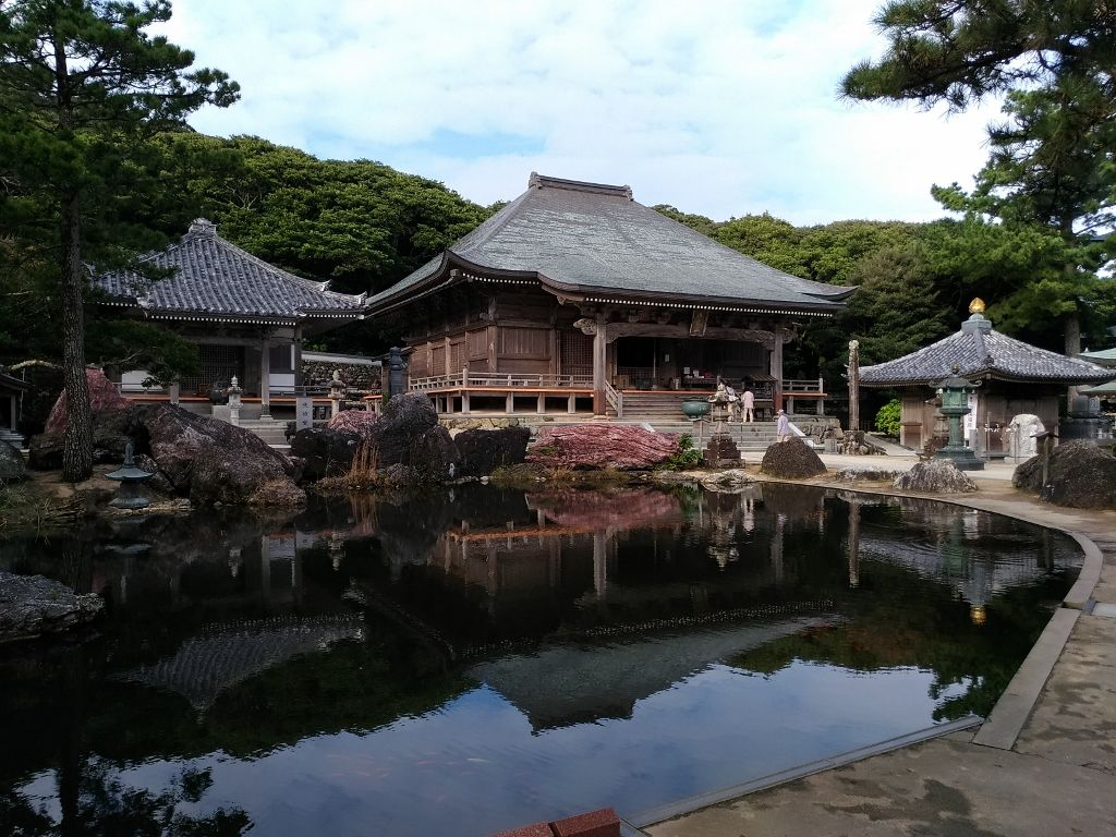弘法大師が開基した四国八十八ヶ所の第38番札所「金剛福寺」