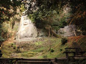 鬼が造った階段を上ってたどり着く大分国東半島「熊野磨崖仏」