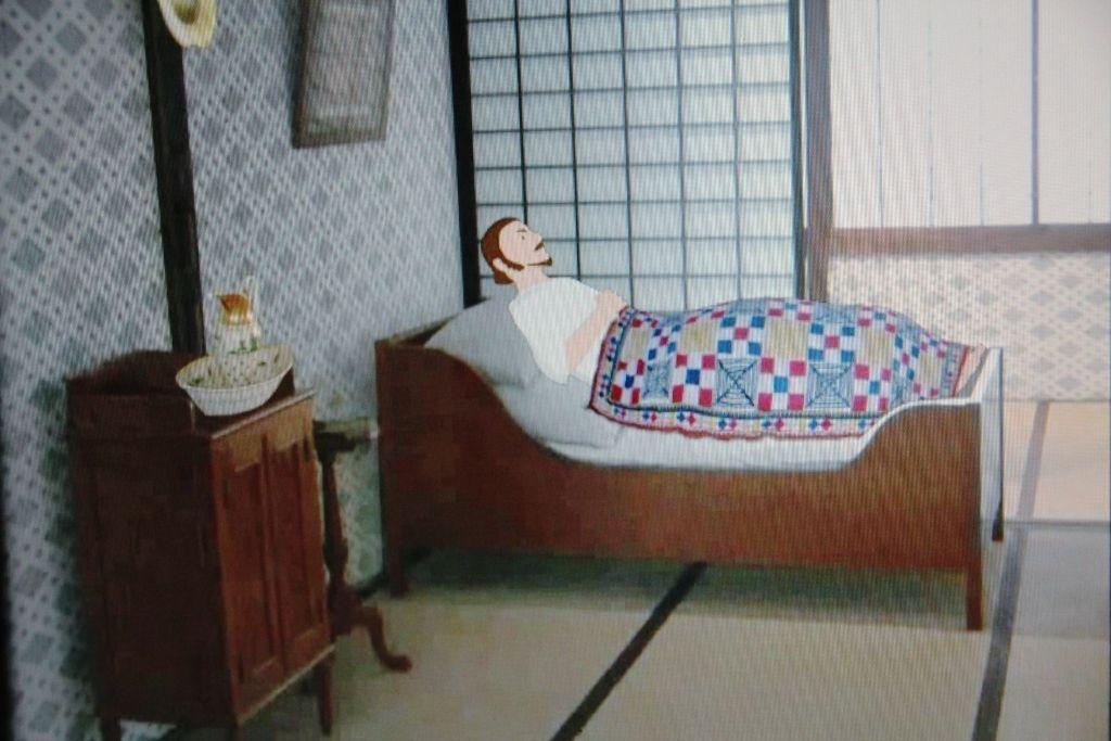 不思議な小さいベッド「一番船船頭部屋」