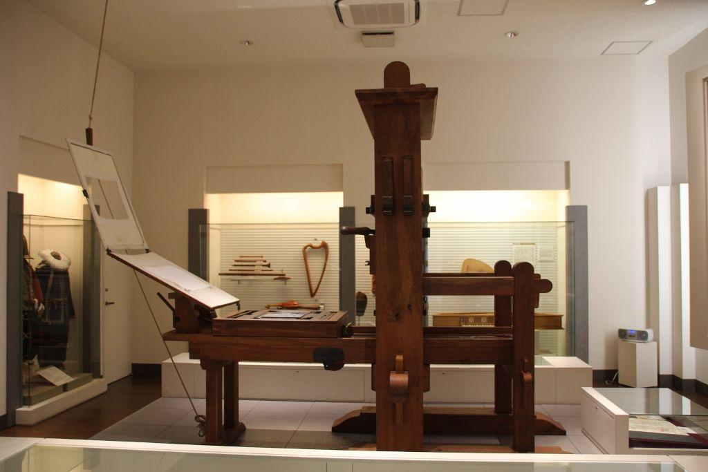 天正遣欧少年使節団が持ち帰った「グーテンベルク印刷機」
