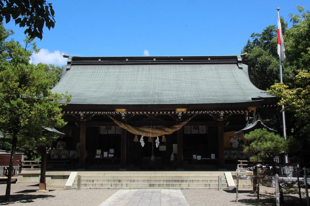 菊池氏を祀る「菊池神社」