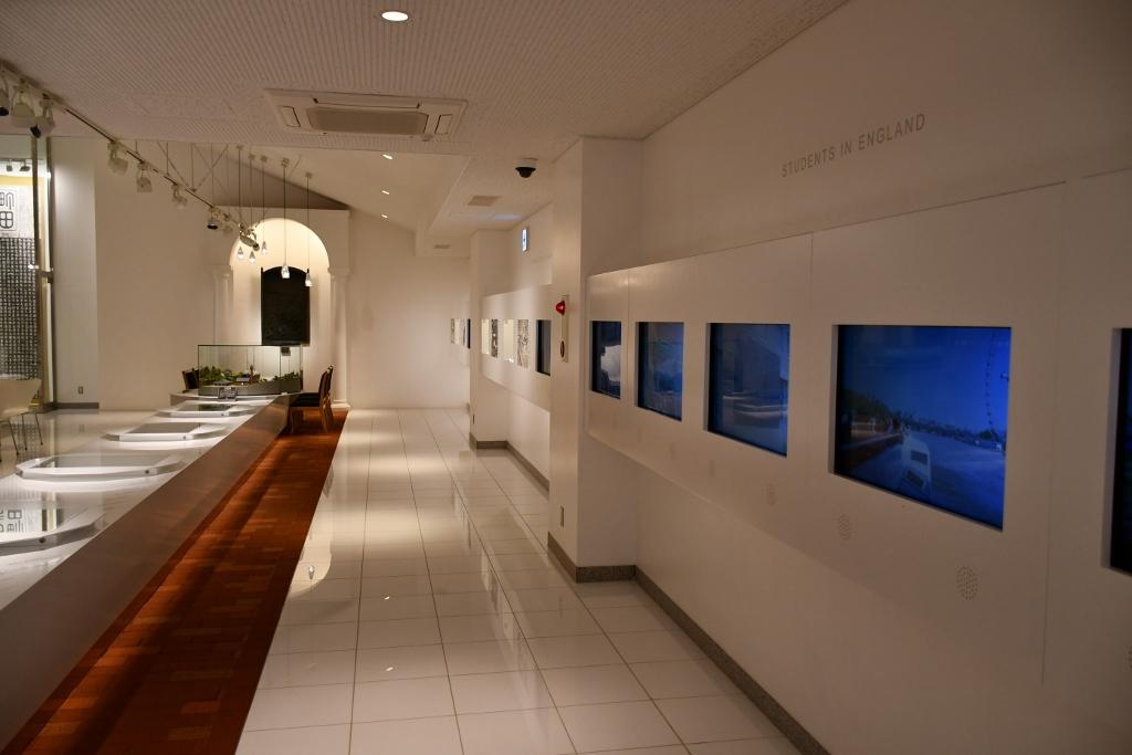 薩摩スチューデントの活躍がわかる2階展示室