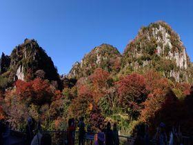 日本新三景で紅葉を満喫!大分県中津市深耶馬渓「一目八景」の秋