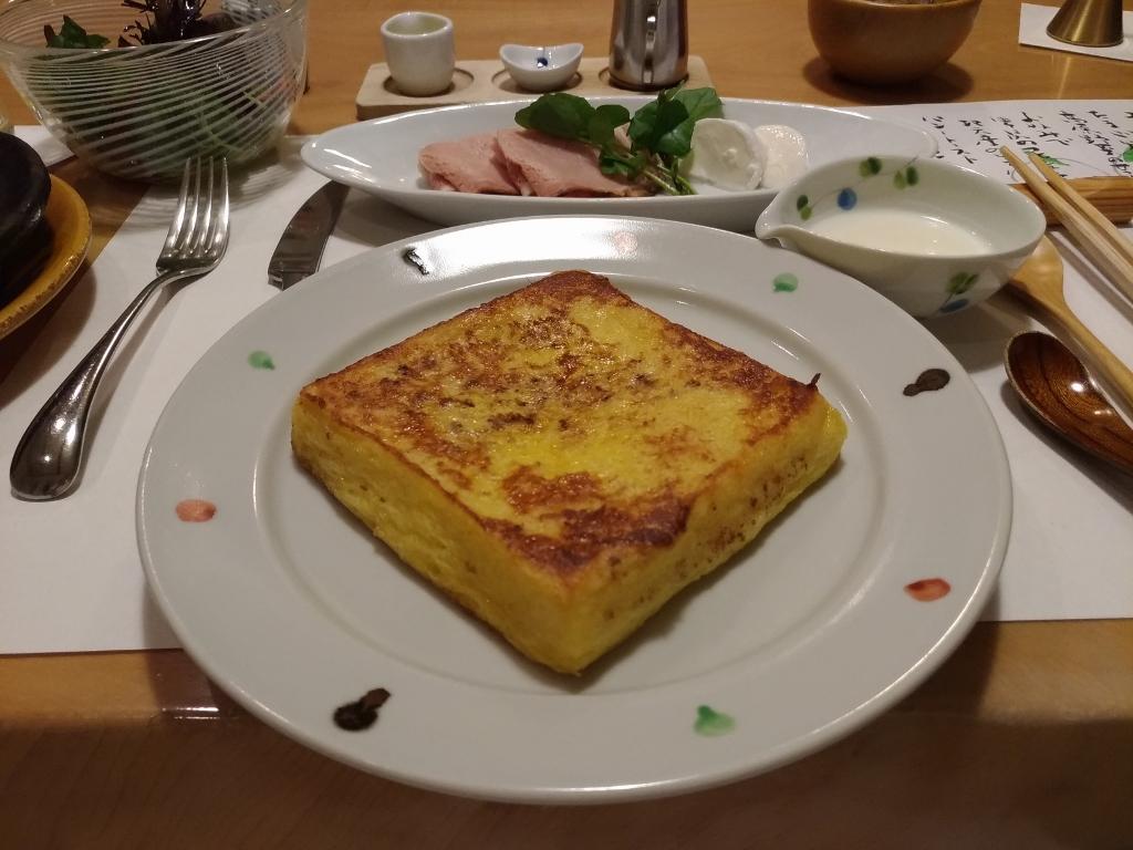 和食と洋食が選べる朝食