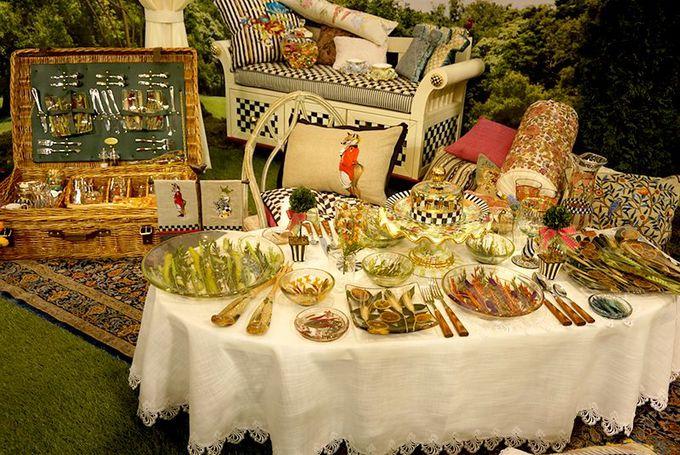 バラエティ豊かなテーブルコーディネイトの数々を見て回ろう!