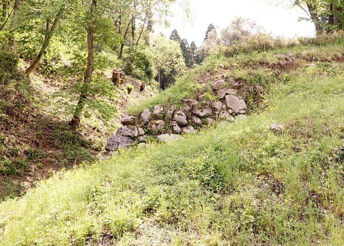 石垣、土塁、竪堀、曲輪、空堀跡〜中世の山城散策を楽しもう!
