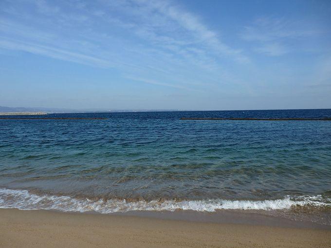 美しいビーチだってあるんです