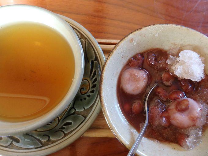 2日目 午後:陶器の町「壺屋」で登り窯を眺めつつ沖縄料理と沖縄ぜんざいを