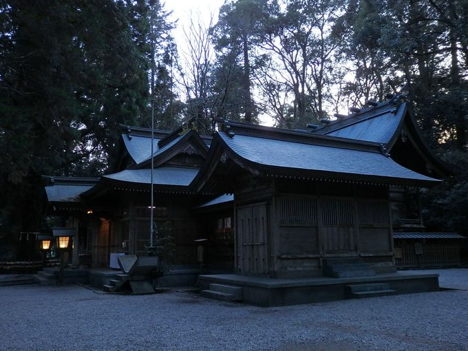 まずは高千穂神社へ