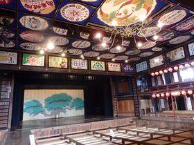 八千代座・灯籠・馬すじカレーピザに温泉!熊本「山鹿」半日観光コース
