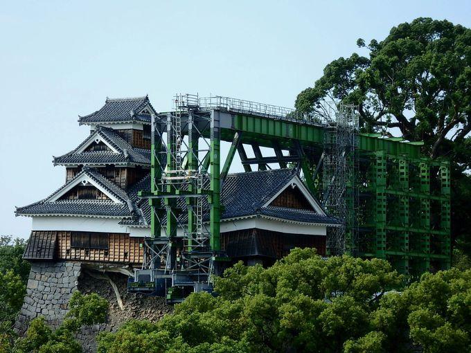 3:その名も「城見櫓」!郷土料理店も展望室を無料開放中
