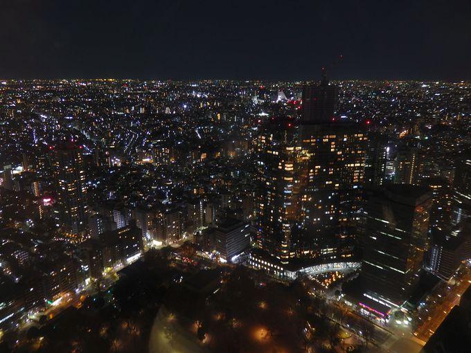 シメは夜景観賞!都庁の展望室から東京を見渡そう