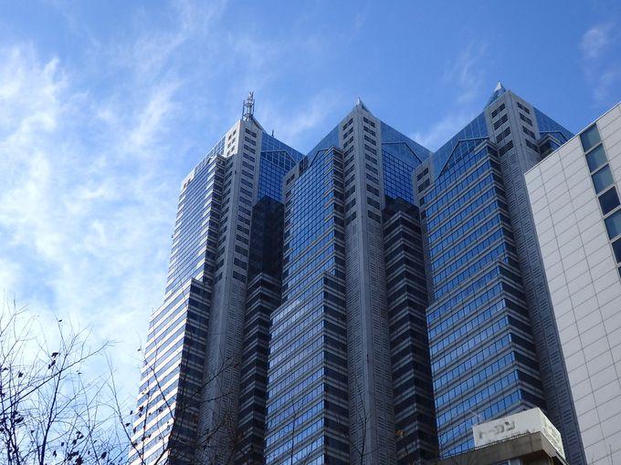 都庁とセットで訪れたい「新宿パークタワー」