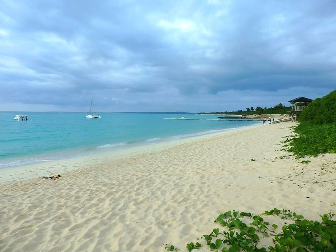 東洋一!絶景の与那覇前浜ビーチをひとりじめ