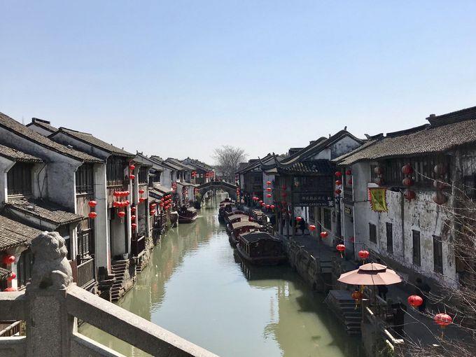 運河沿いの山塘街で街歩き!