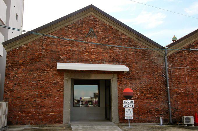 三池炭鉱の記憶を伝える、レンガ造りの倉庫
