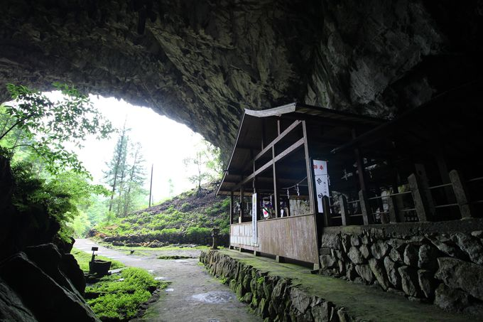 神秘的な石灰洞窟は「国指定名勝」