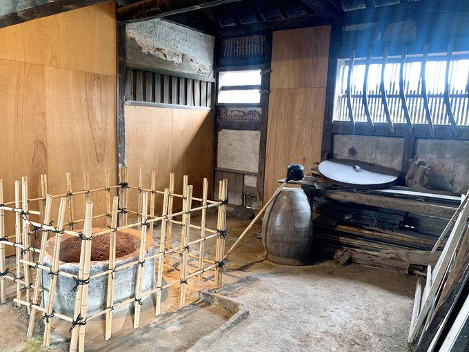 武家屋敷内で見学できる井戸