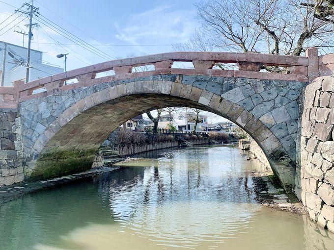 終点は、江戸の石橋