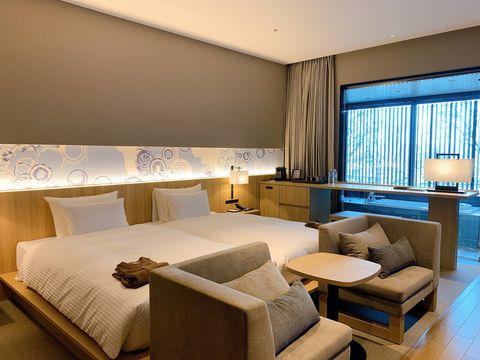 ホテル「THE BLOSSOM KUMAMOTO」は熊本駅直結の街中リゾート