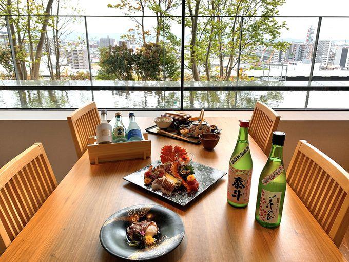 九州の食材を楽しむレストラン