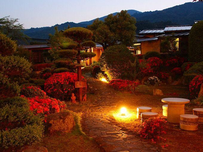 山口・湯野温泉「芳山園」は風光明媚な庭園に温泉付き離れが点在、しかもお値打ち!