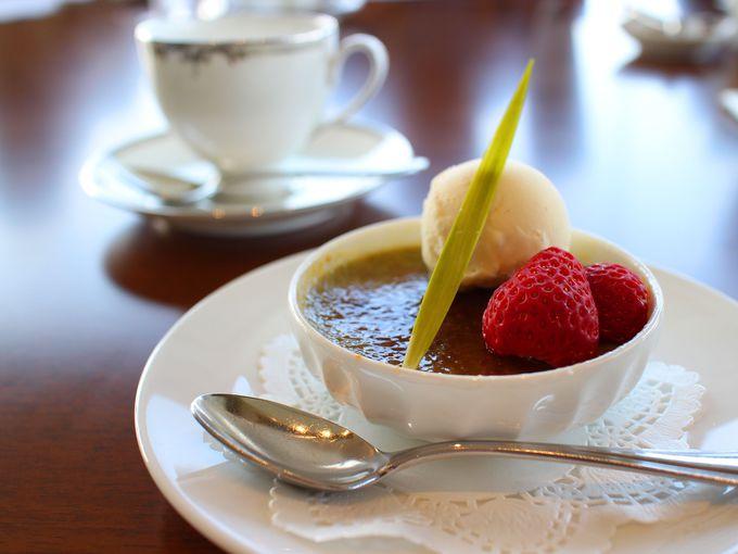 ティータイムは抹茶の季節限定スイーツで