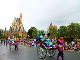 ディズニー七夕デイズin東京ディズニーランドで盛り上がれ!人力車に乗ったミッキー&ミニーに会おう