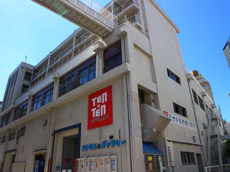 港町でちょっと変わったもの創り体験!神戸波止場町TEN×TENでアートに触れる