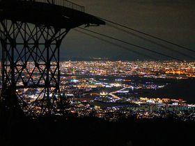 神戸のキラッキラ夜景は有馬温泉から六甲有馬ロープウェーで見に行こう!