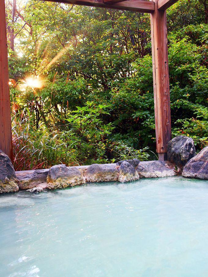 高湯温泉のんびり館の多彩なお風呂