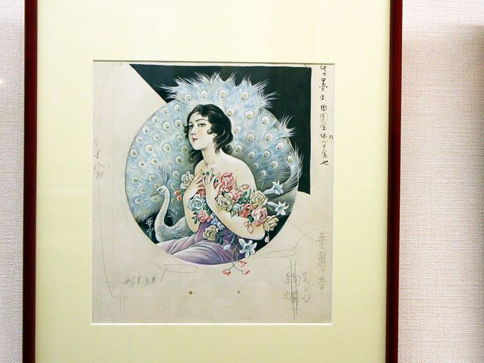 弥生美術館の常設展示