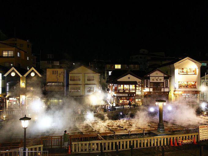 草津温泉のシンボル湯畑を一望の贅沢な山本館