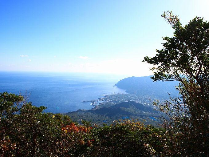 八丈富士の登山はなんと1280段の階段