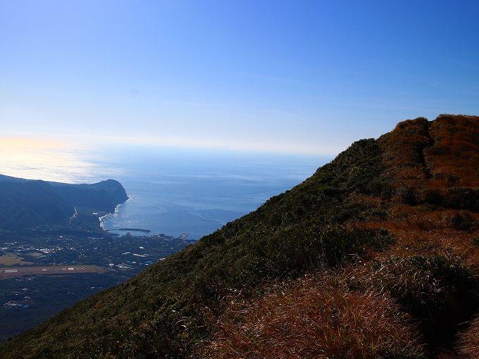 八丈富士の山頂とお鉢巡り