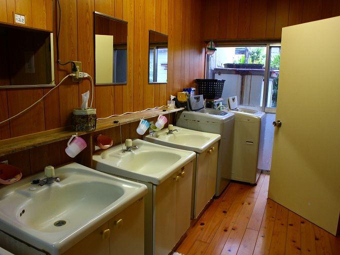 あしたば荘の洗濯機・電子レンジ・冷蔵庫・お風呂など