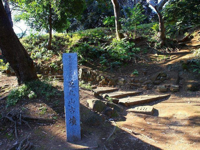 古墳に祀られる円山随身稲荷大明神