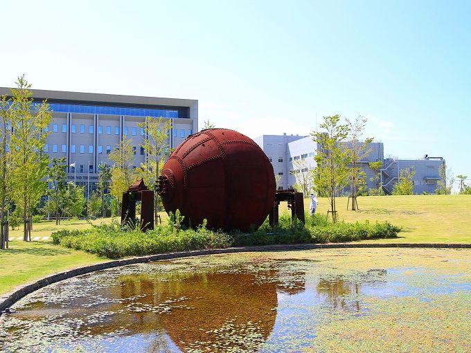 地球釜と三菱製紙中川工場