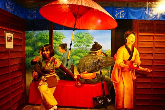 「江戸」がテーマの東京トリックアート迷宮館