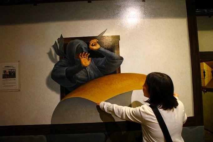 トリックアートで忍者とバトル!