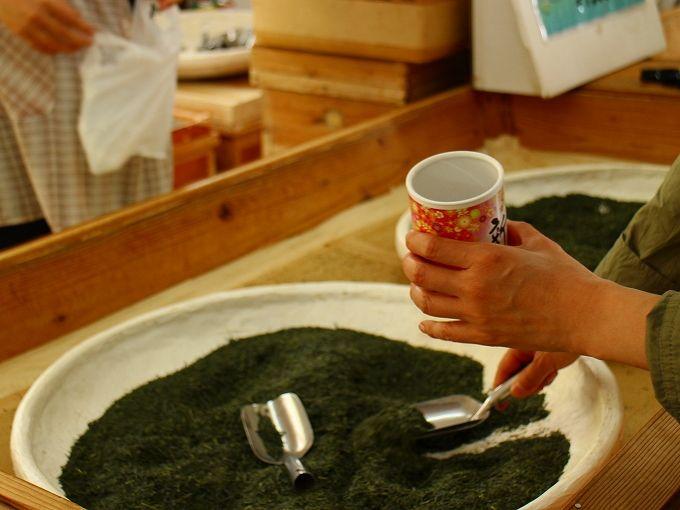 日本平お茶会館なら「お茶摘み」だけでなく「お茶詰め」や「お土産」も!